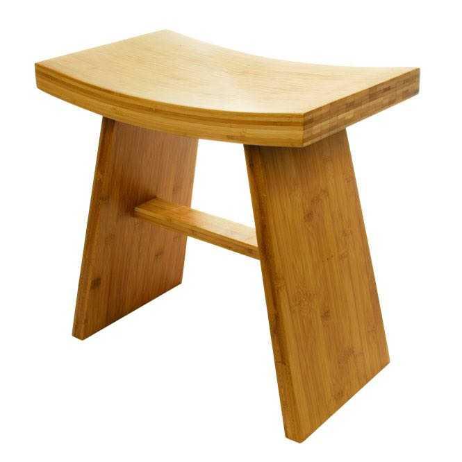 tabouret zen bambus. Black Bedroom Furniture Sets. Home Design Ideas