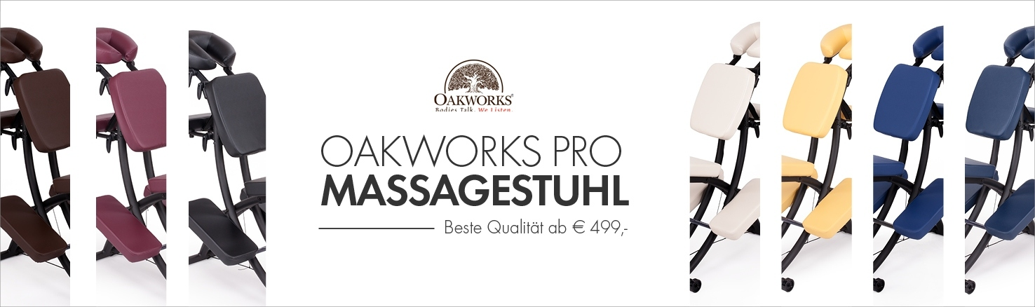 Banner 3 Startseite: Massagestuhl Oakworks Pro