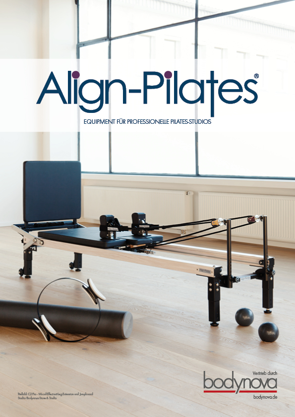 ALIGN PILATES Katalog 2018 - Equipment für professionelle Pilatesstudios