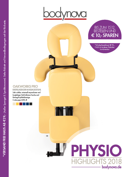 Bodynova Physio Katalog - Highlights & Neuheiten - 2018/2019