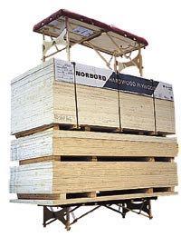 Oakworks Massageliege Belastungstest mit 3 Tonnen Gewicht