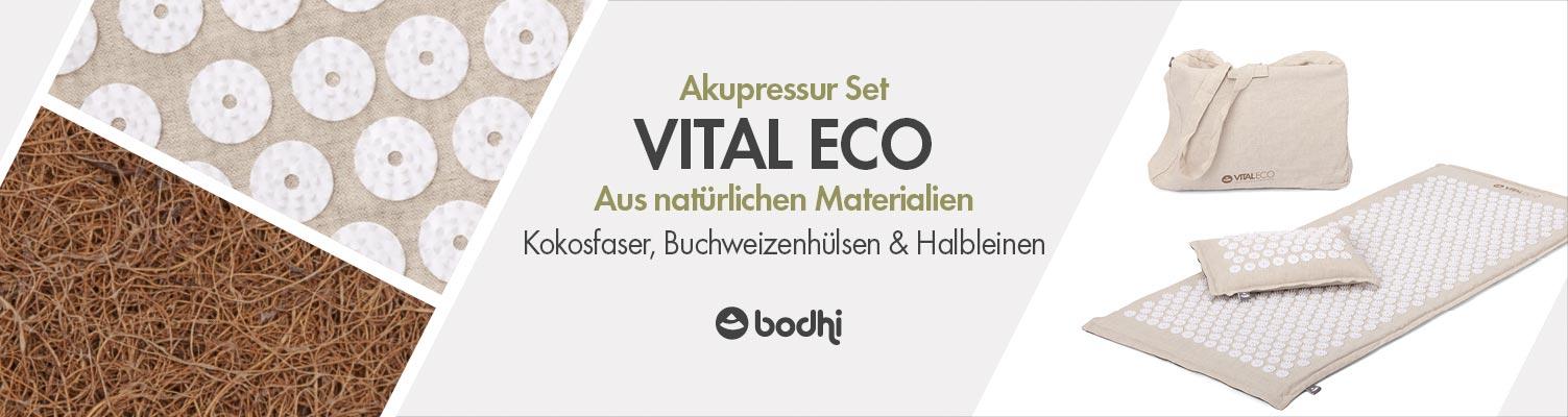 Akupressurmatten-Sets von bodhi | Kokosfasern und Halbleinen