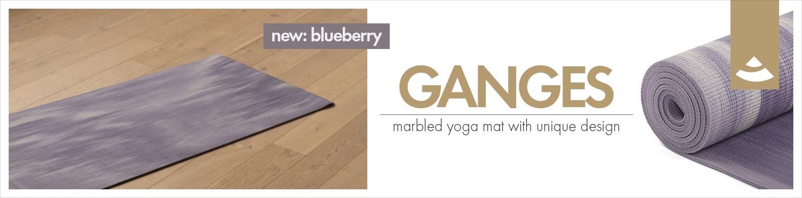 Ganges yoga mat by bodhi