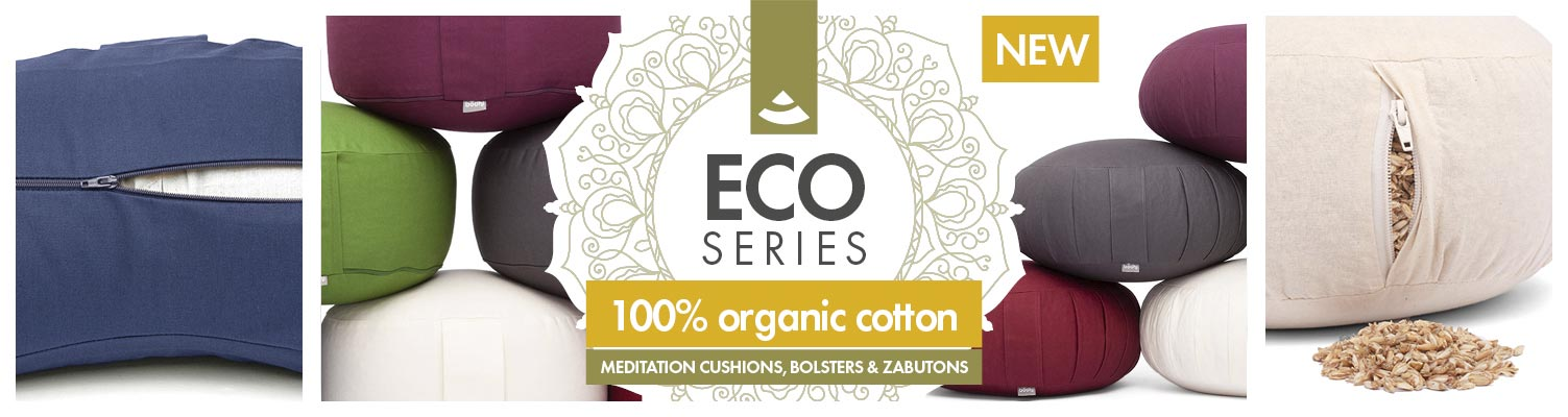 Bodhi Eco Collection | Cushions & yoga bolster