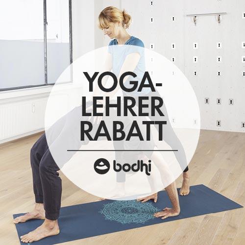 Yogalehrerrabatt von bodynova