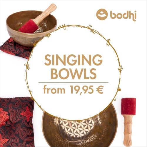 Klangschalen aus Indien