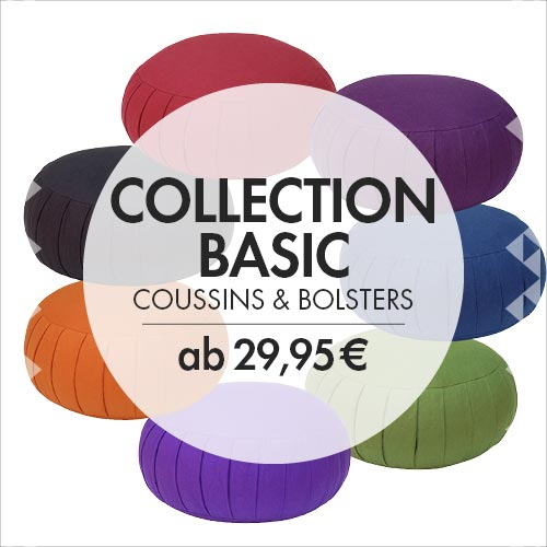 Basic Collection: Coussins & bolsters