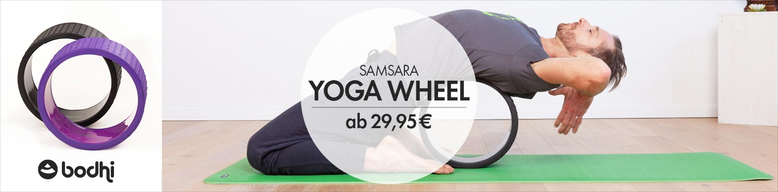 Yoga Wheels - Samsara von bodhi