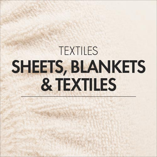 Sheets, Blankets and Textiles