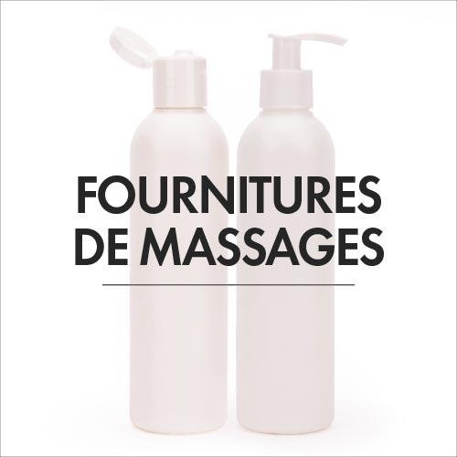 Fournitures de massages
