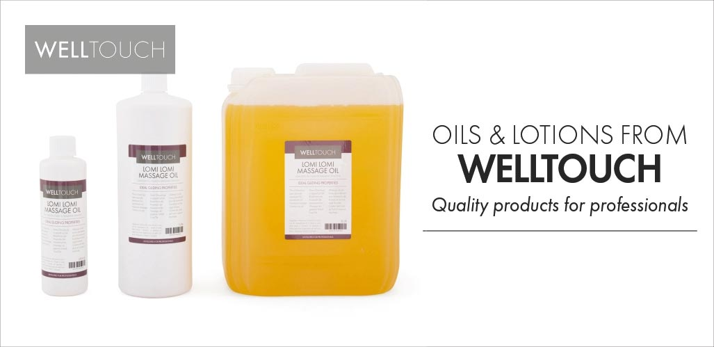 Welltouch Massage oils for professional