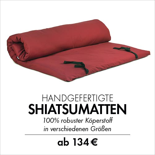 Robuste Shiatsumatten - Made in Germany