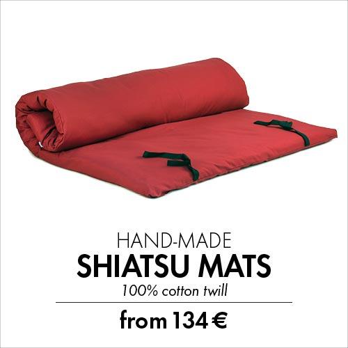 hand made shiatsu mats by bodynova
