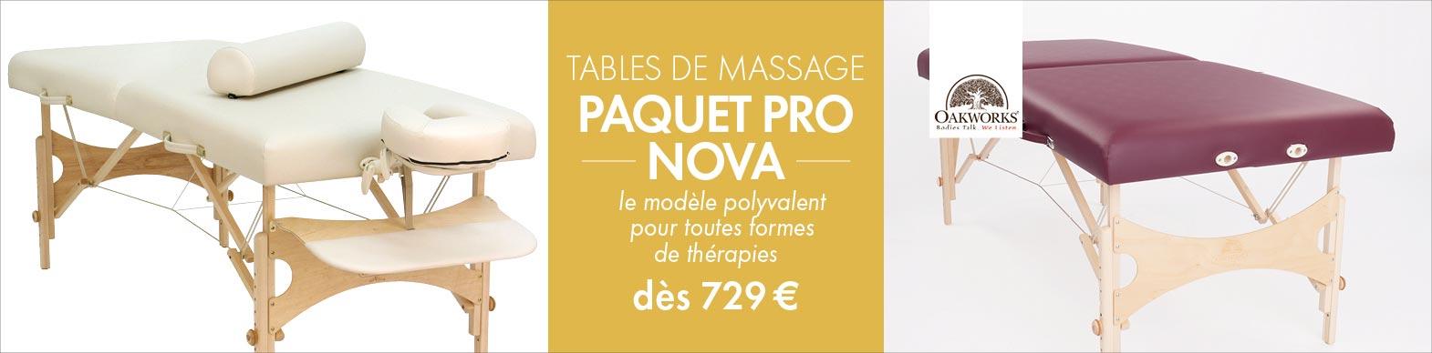Profi Paket Nova - Allround Massageliege