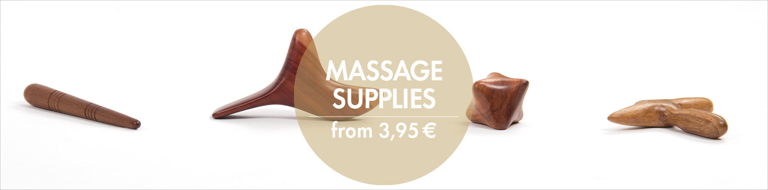 Massage supplies by Bodynova