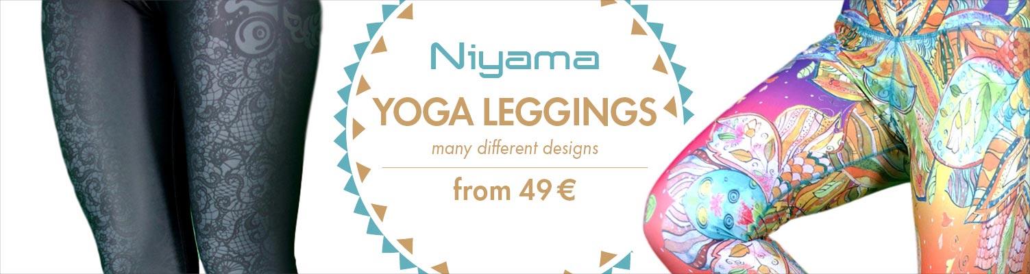 Yoga Leggins von Niyama Sports