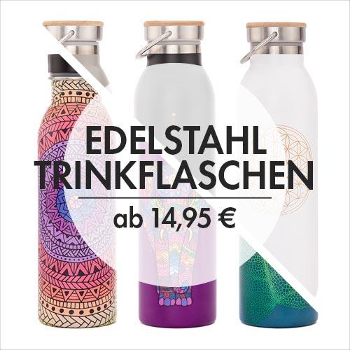 Edelstahl Trinkflaschen von bodhi