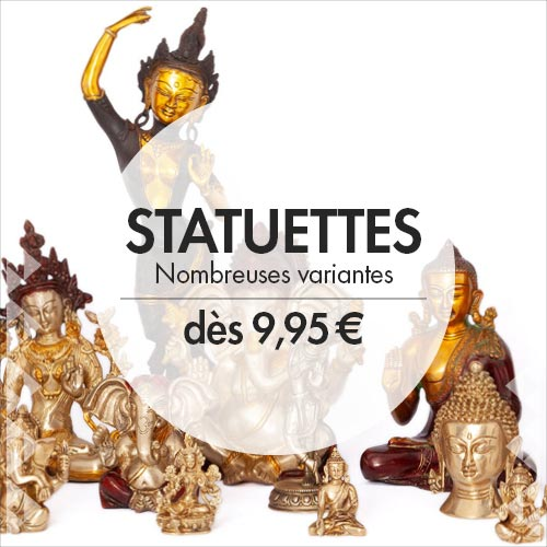 Statues of indian gods