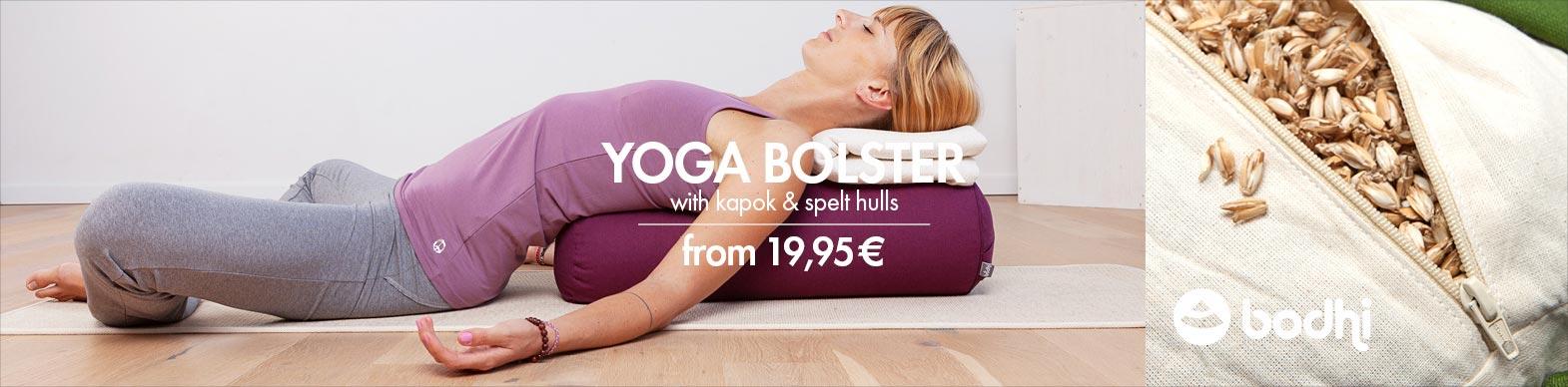 Yoga Bolster von bodhi