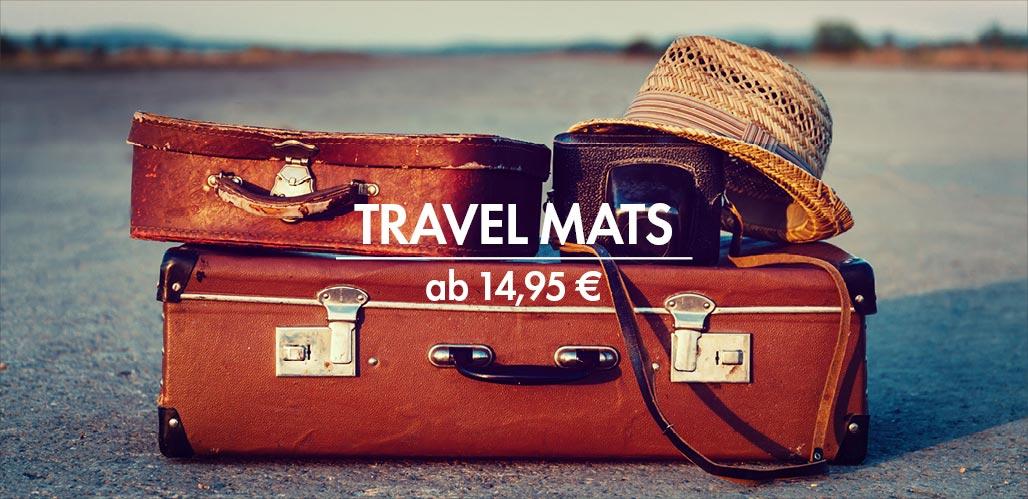 Reiseyogamatten | Travel Mats auf bodynova.de