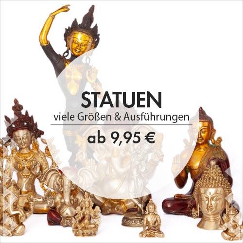 Statuen im bodynova Online Shop