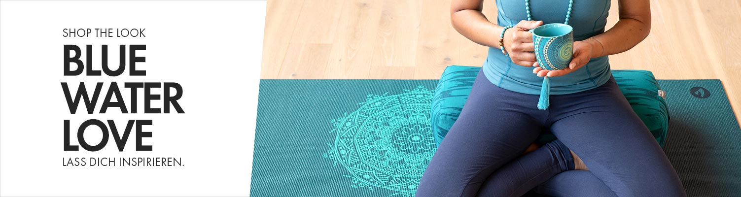 Blaue Produkte von bodhi entdecken - Shop the Look - bei Bodynova: Blue Water Love