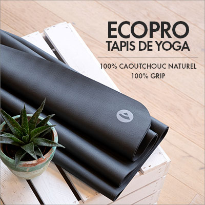 Tapis de yoga | EcoPro |100% Natural Rubber et 100% Grip