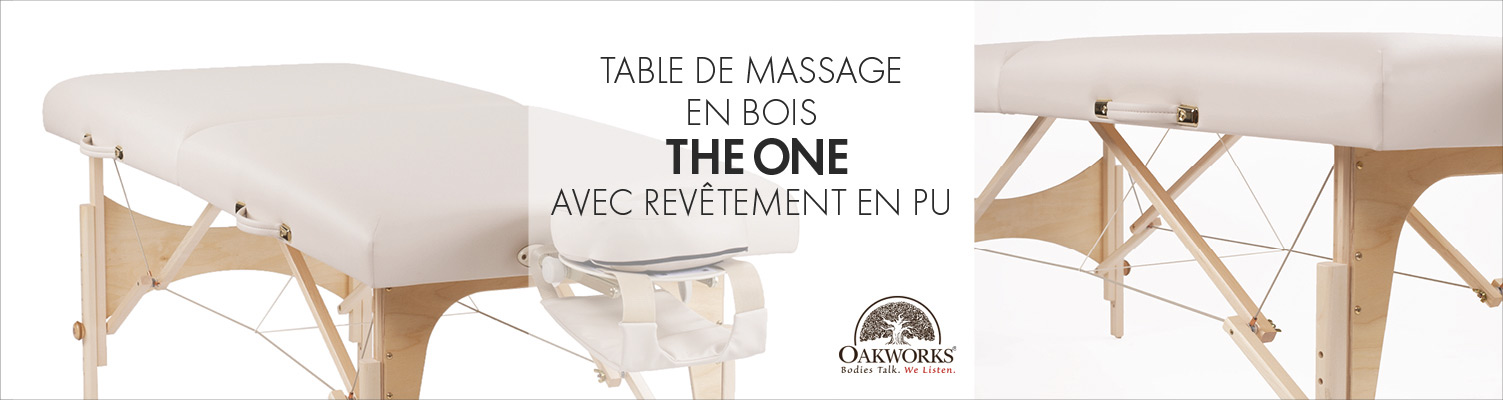 The One by Oakworks | Folding Massage table