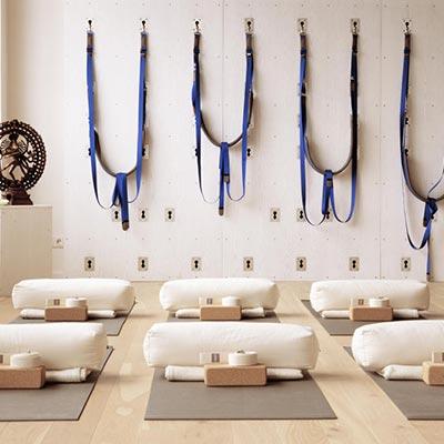 Mit bodhi zum vollausgestatteten Yoga- und Pilatesstudio.