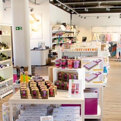 Der Verkaufsraum in unserem Store & Studio in Köln
