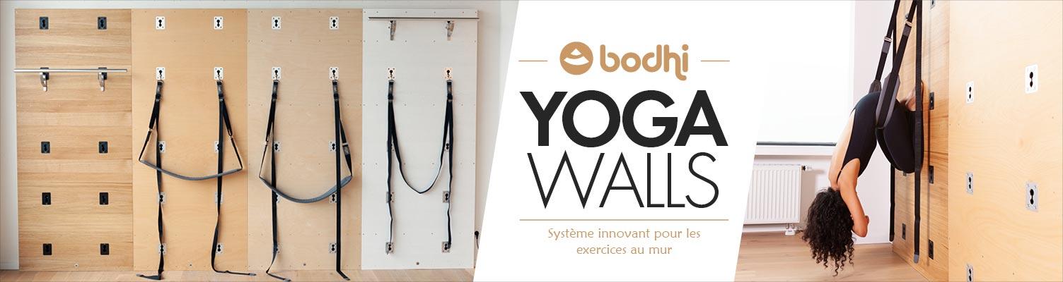 Yoga Wall™ | Système innovant pour les yoga exercices au mur