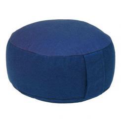 Coussin de méditation RONDO BASIC bleu foncé | épeautre