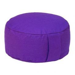 Meditationskissen RONDO BASIC lila | Dinkelhülsen