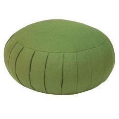 Meditation cushion ZAFU BASIC olive | spelt hull