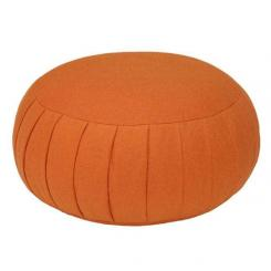 Meditation cushion ZAFU BASIC orange | spelt hull