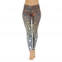 Niyama LeggingsLiquid Marble Nature
