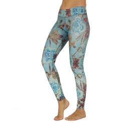 Niyama Leggings Roses and Wine