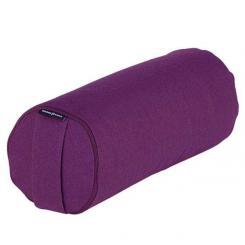Yoga MINI BOLSTER (Nackenrolle) aubergine