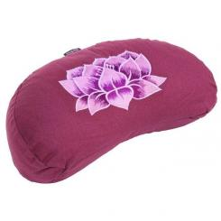 Meditation cushion YOGI MOON BASIC - Lotus aubergine