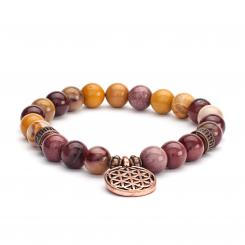 Mala bracelet, yolk stone (fashion jewelry)