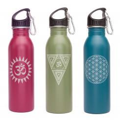 bodhi  Edelstahl-Trinkflasche, 700 ml, unifarben mit Print