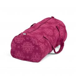 Maharaja Collection: Gemusterte Hot Yoga Bag Lotus, berry