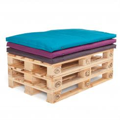 Pallet seat cushions, 120 x 80 cm