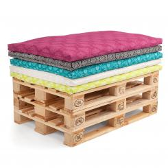 Futon pour palette, Maharaja Collection, 120 x 80 cm