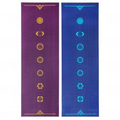 Tapis de yoga design CHAKRAS, The Leela Collection