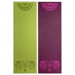 Design yoga mat ELEPHANT/MANDALA, The Leela Collection