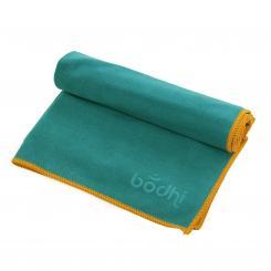 Yogatuch NO SWEAT FUN Towel S petrol/oranger Saum (neu)