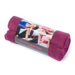 Yoga towel NO SWEAT large aubergine