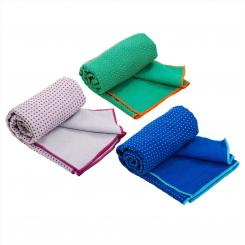 Serviette de yoga GRIP² - bicolore