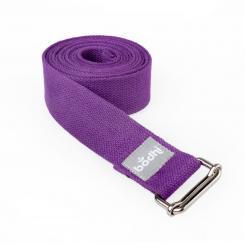 sangle de yoga ASANA avec boucle coulissante violet